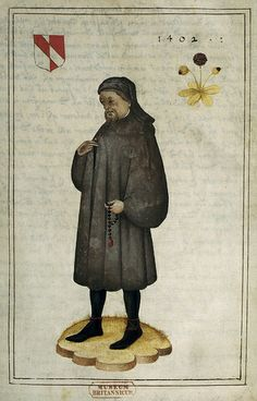 Portrait and Life of Chaucer - caption: 'Portrait of Chaucer'