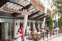Enjoy the Park Cafe on #AllureoftheSeas! #RoyalCaribbean www.tripquesttravel.com