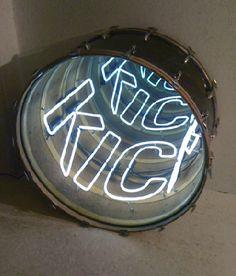 Navarro, Ivan. Neon Art installation. Get your own neon sign on www.sygns.com