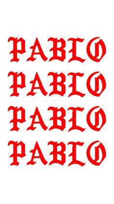 Who name Pablo out here? Screen Wallpaper, Cool Wallpaper, Wallpaper Quotes, Wallpaper Backgrounds, Iphone Wallpaper, Kanye West Wallpaper, Yeezus Wallpaper, Bape Wallpapers, Zeina