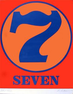 The Sacred Number 7 Seven Jean Arp, Victor Vasarely, Lucky 7, Lucky Number, Henry Moore, Biblical Numbers, Tutorial Sites, 7 Seven, Number Meanings