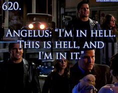 dude...you just rescued a puppy lmao this is one of my favorite episodes of angel. I'm glad faith was in this one, it just added to the humor lmao