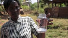 Salt and a car battery: Unusual tools to make clean water in Kenya - BBC News