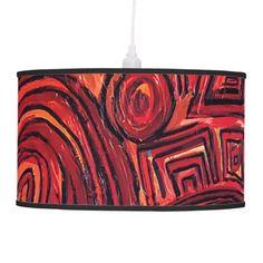 Lámpara Symbols Red - Ludodesign