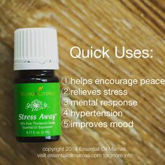 Stree away young living essential oil Essential Oils For Stress, Essential Oil Uses, Young Living Essential Oils, Yl Oils, Doterra Oils, Essential Oil Diffuser Blends, Young Living Oils, Blood Pressure, Healthy