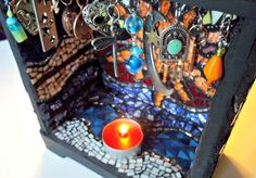 Etsy Mosaic Shrine Sun Bohemian Art Bohemian by earthmothermosaics, $250.00