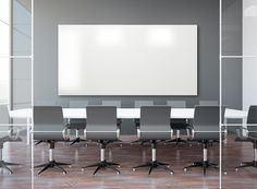 Frameless Porcelain Markerboard adds style to any modern office or conference room.