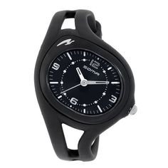 Soma Women's DYK510001 RunOne S Black Strap Analog Sports Watch Soma. $46.84. 3 hand analog movement. Water-resistant to 165 feet (50 M). Backlight function. Minute track. Black dial with white Arabic numerals at 12, 3, 6, and 9 o'clock
