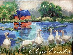 ElenaCirulis — «моя вышивка» на Яндекс.Фотках My Works, Embroidery, Painting, Art, Seed Stitch, Art Background, Needlepoint, Painting Art, Kunst