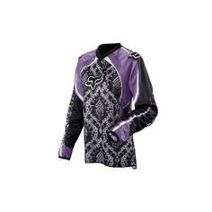 Fox Racing Womens HC Delicate Jersey   Large/Purple