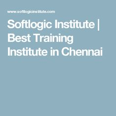 Softlogic Institute | Best Training Institute in Chennai Chennai, Training, Work Outs, Excercise, Onderwijs, Race Training, Exercise, Studying, Workouts