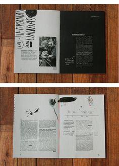Pressbook / Recital CocoRosie - Pressbook / Recital CocoRosie Simple layout design Inspiration for PowerPoint Magazine Layout Design, Book Design Layout, Print Layout, Magazine Layouts, Editorial Design, Editorial Layout, Graphic Design Posters, Graphic Design Inspiration, Graphic Design Typography