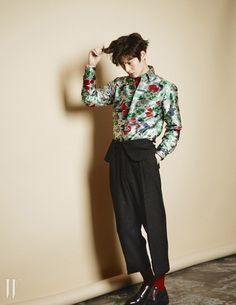 B-Cuts Of Anh Jae Hyun For W Korea's August 2014 Issue | Couch Kimchi