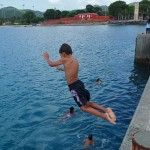 On-Site St. Croix: Re-living the Joy of Jumping Off Frederiksted Pier