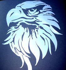 High Detail Airbrush Stencil Tribal Eagle FREE POSTAGE cakepins.com