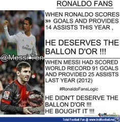 RIP LOGIC - Hypocrite Madrid Fans  http://www.trollfootball.me/display.php?id=16373  #football #soccer #Trollfootball #RealMadrid #RMCF #Barca #FCBarcelona #FCB #RIP