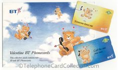 BT Phonecard Direct Valentines Phonecards.