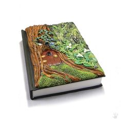 Fairy Door Art Journal Sketchbook Diary by DragonTracksStudio