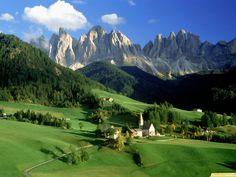 Alpes Suizos, Lugar de origen
