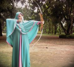 Abaya Fashion, Niqab, Muslim Women, Modest Outfits, Powerful Women, Outfit Of The Day, Fancy, Abaya Style, Archery