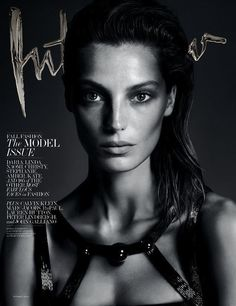 Cover Interview Daria Werbowy