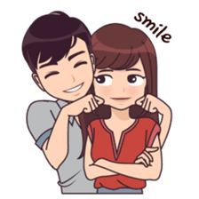 Quotes Discover Latest Funny Couple Cute funny lovely couple sticker for those who in love Love Cartoon Couple Cute Love Cartoons Cute Love Couple Anime Love Couple Cute Couple Drawings Love Drawings Cute Love Stories Cute Love Quotes Anime Couples