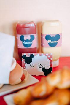 Mickey and Minnie Hot Dog