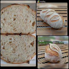 Egyszerű kovászos kenyér – Alaprecept   Betty hobbi konyhája Bread, Food, Brot, Essen, Baking, Meals, Breads, Buns, Yemek