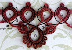 Tatting: Reading Patterns and Making Projects