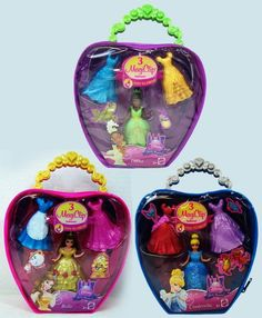 disney magic clip princesses | MATTEL - DISNEY PRINCESS - MAGIC CLIP FASHIONS - BAG - ASSORTMENT #celebnyc #magiclip My Little Pony, Little Girls, Cool Toys, Awesome Toys, Frozen Games, Princess Party, Disney Princess, Mac S, Polly Pocket