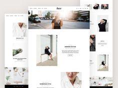 WordPress Theme  Minimalist Blog Ecommerce Theme  Genesis Theme  WordPress  Website  Fashion Blogger Theme  U201cLuxeu201d Instant Download