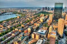 Boston one of The 15 Greenest Cities in America