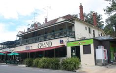 Grand Hotel at Warrandyte.