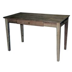 Cozy home depot solid wood desk for your home Ikea Desk, Diy Desk, File Cabinet Desk, Into The Woods, Solid Wood Desk, Rustic Desk, White Desks, Wood Doors, Living Room Chairs