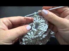 Vídeo Passo a passo Flor 6 Bicos em Crochê da Professora Simone