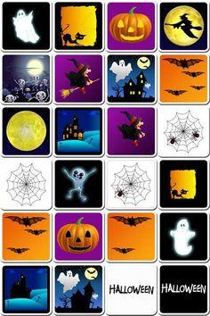 memory halloween to print