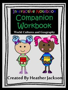 Interactive notebook ancient civilizations unit 1 geography my companion workbook for interactive notebook world cultures fandeluxe Gallery