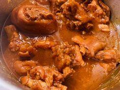 Körömpörkölt recept lépés 4 foto Chicken Wings, Beef, Food, Meat, Essen, Meals, Yemek, Eten, Steak