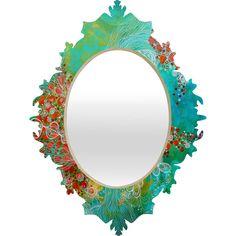 Stephanie Corfee Whisper Baroque Mirror | DENY Designs Home Accessories