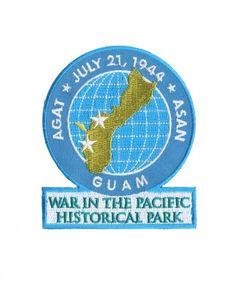 Official Guam War in the Pacific Historical Park Souvenir Patch