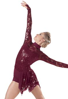 2015 Weissman™ | Cannonball 7717 Burgundy- wearing this for our contemporary dance