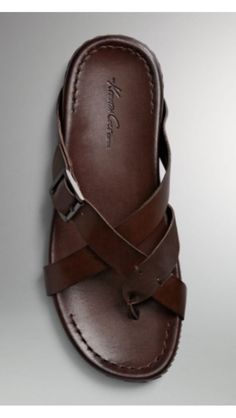 Kenneth Cole New York, Sail Breeze brown leather sandals Mens Fashion Shoes, Fashion Sandals, Mens Shoes Boots, Shoe Boots, Brown Sandals, Leather Sandals, Buy Shoes, Shoes Sandals, Leather Men