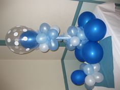 balloon arch for baby shower...