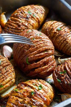 hasselback potato recipe