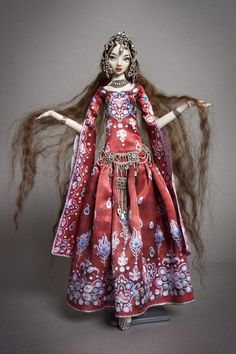 Enchanted Doll by Marina Bychkova. More than mere playthings, Enchanted Dolls are a brand of elegantly sculpted and articulated works of art. Enchanted Doll, Ooak Dolls, Barbie Dolls, Nanu Nana, Vladimir Kush, Marionette, Living Dolls, Paperclay, Little Doll