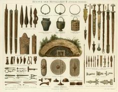 Contents of an Iron Age tomb found in Norway.