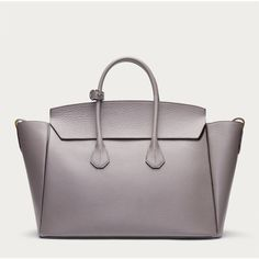 Bally SOMMET LARGE Women's leather tote in Mink ($1,995) ❤ liked on Polyvore