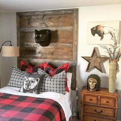 Fantastic Rustic Cabin Bedroom Decorating Ideas - Page 28 of 41 - Actaeon Decor