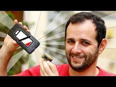 Manual do Mundo - Como carregar um celular com uma bateria 9V