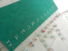 Verjaardagskalender maken - Birthday calendar DIY